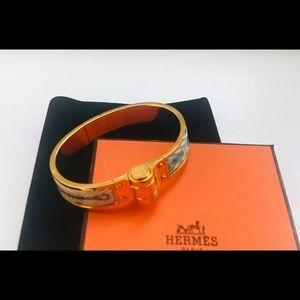 Authentic Hermès Hinged Bracelet PM